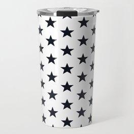Superstars Black on White Medium Travel Mug