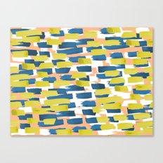 beach stripe Canvas Print