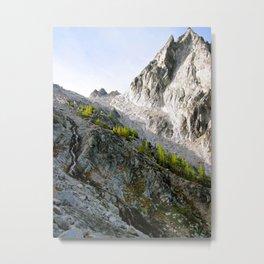 Dawn at Aasgard Pass Metal Print
