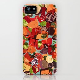 Grilled Vegetables iPhone Case