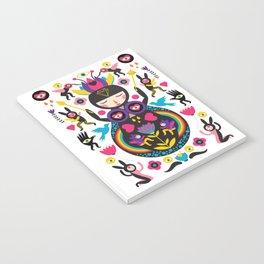 Rainbow Queen Notebook