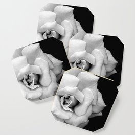 Rose Monochrome Coaster