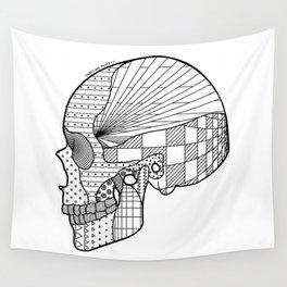 Tweny One Pilots Skull (REDUX) Wall Tapestry
