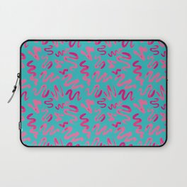 Squiggles Pattern Laptop Sleeve