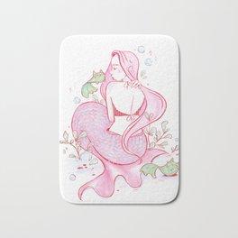 Mermaid and Catfish Bath Mat