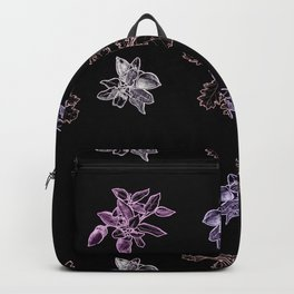 Quercus (black, purple) Backpack
