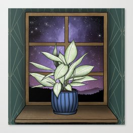 Houseplant Dreams Canvas Print