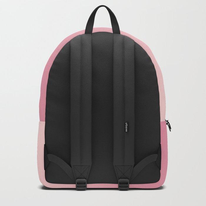ROSE PETALS - Minimal Plain Soft Mood Color Blend Prints Backpack