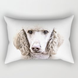Standard Poodle Rectangular Pillow