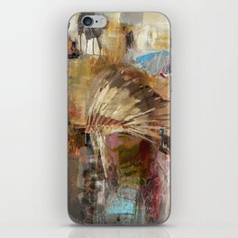 'WALK IN BEAUTY' iPhone Skin