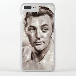 Robert Mitchum by MB Clear iPhone Case