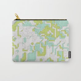 Geometric abstract composition art Carry-All Pouch