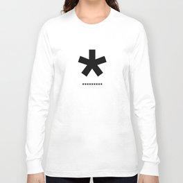 Helvetica Typoster #3 Long Sleeve T-shirt