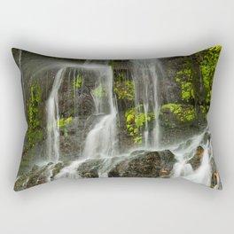 Ho Opi'i Waterfall  Rectangular Pillow