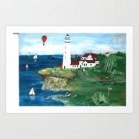 Scenic Overlook  Art Print