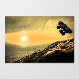 "mass effect mako ""sunrise"" Canvas Print"