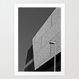 Texture (South Wharf, 2011) Art Print