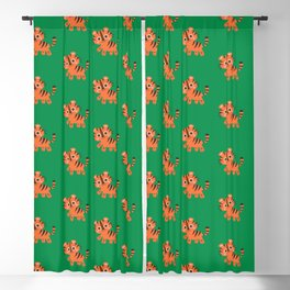 Baby Tiger Blackout Curtain