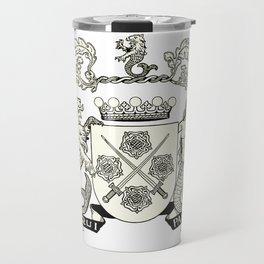 Heraldry Arms Medieval Travel Mug