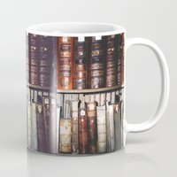 literature Mugs featuring Art & Literature by czossi
