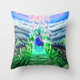 Gate of Hope Throw Pillow
