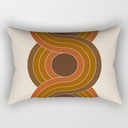 Cocoa Chain Rectangular Pillow