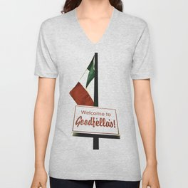 Welcome to Goodfella's! Unisex V-Neck