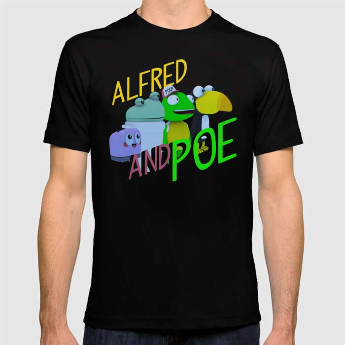 Alfred and Poe! T-shirt