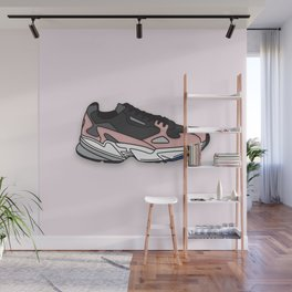 Falcon illustrated Wall Mural
