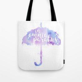 Gilmore Girls, In Omnia Paratus Tote Bag
