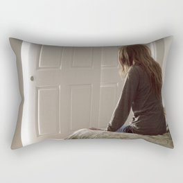 Untitled, Film Still #1 Rectangular Pillow