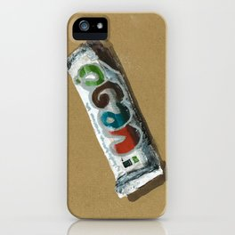 Vego vegan Chocolate is a thing I use to define myself iPhone Case