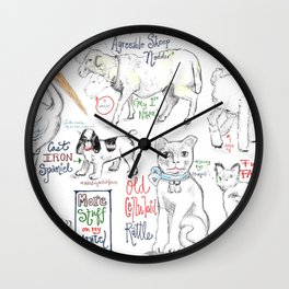 Things on My Mantel #2 Wall Clock