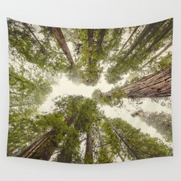 Into the Mist - Nature Photography Wall Tapestry