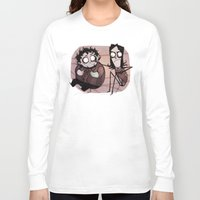 tim burton Long Sleeve T-shirts featuring Burton Grumps by SIINS