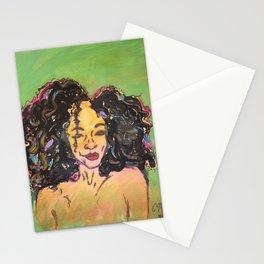 I am Black Girl Magic 2 Stationery Cards