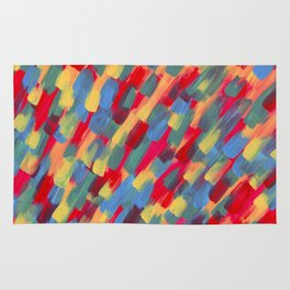 Abstraction flower Rug