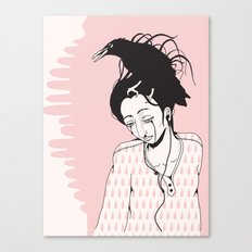 Sad Canvas Print