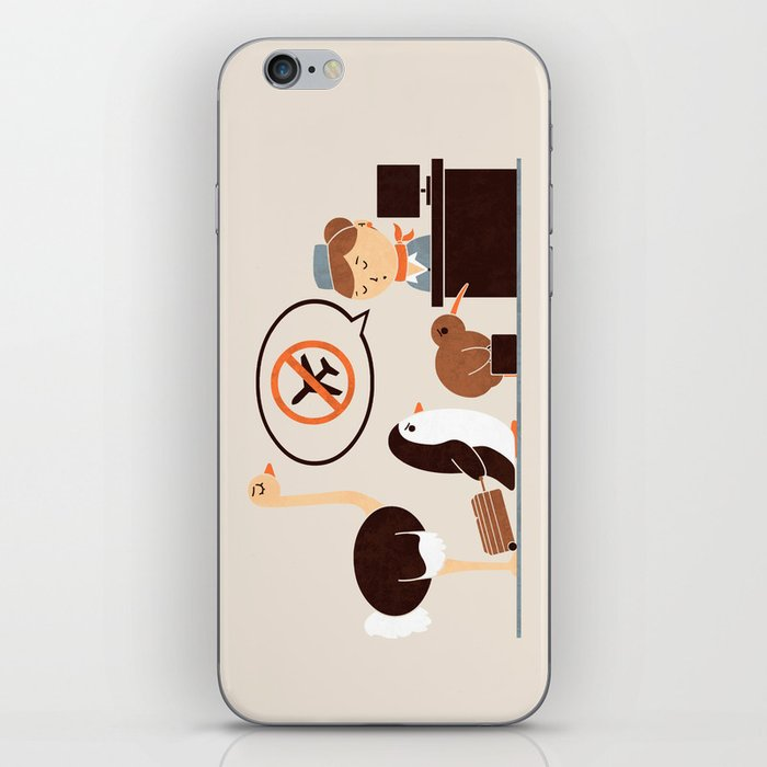 The No-Fly List iPhone Skin