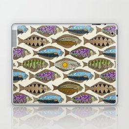 Alaskan halibut pearl Laptop & iPad Skin
