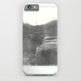 Instant Print 1- Rock Quarry iPhone Case