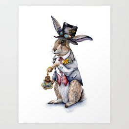March Hare Art Print