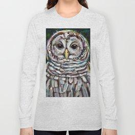 Artemis the Barred Owl Long Sleeve T-shirt
