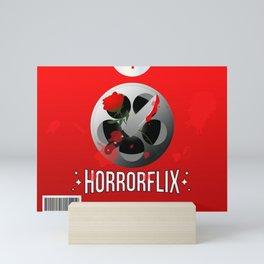 Horrorflix Mini Art Print