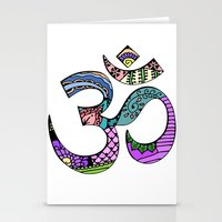 ohm Stationery Cards featuring Ohm by Ilse S