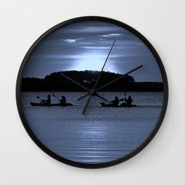 Moonlight Tandems Wall Clock