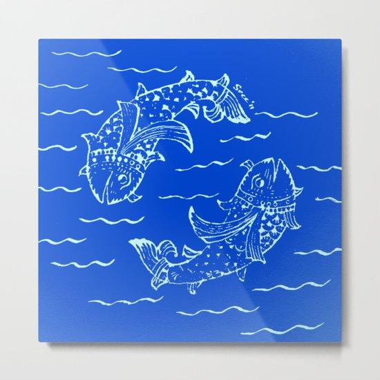 Happy fish- 1 Metal Print