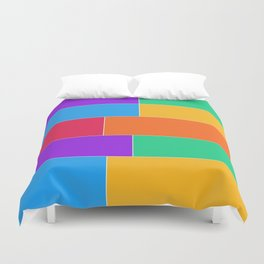 Patched Together Duvet Cover