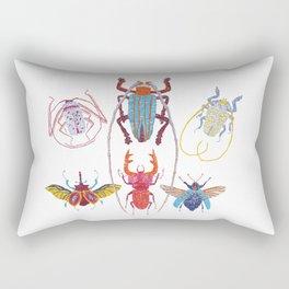 Stitches: Bugs Rectangular Pillow