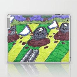 Surrendering Moles Laptop & iPad Skin